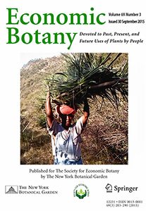Economic Botany Cover